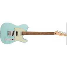 Fender De-luxe Nashville Telecaster, PF, Daphne Blue.