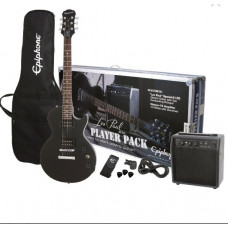 Epiphone Les Paul Player Pack, Ebony