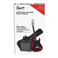 Fender Squier El-guitarpakke, Candy Apple Red