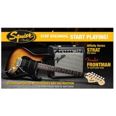 Fender Squier Affinity Pack 3 Brown Sunburst